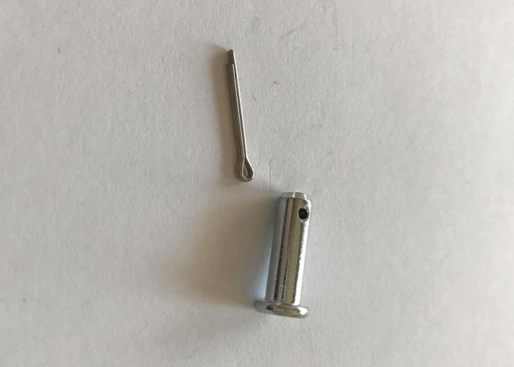 Sprintbult, inklusive saxsprint, 5mm.