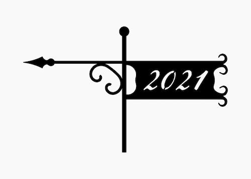 Vindflöjel Smide - 2021