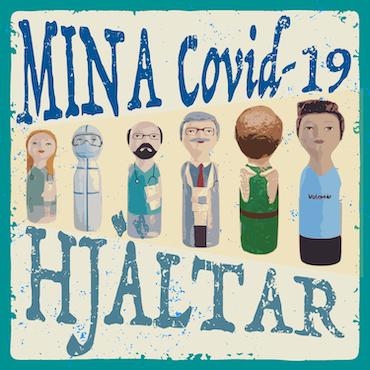 Huvtröja, Mina Covid-19 Hjältar, rosa