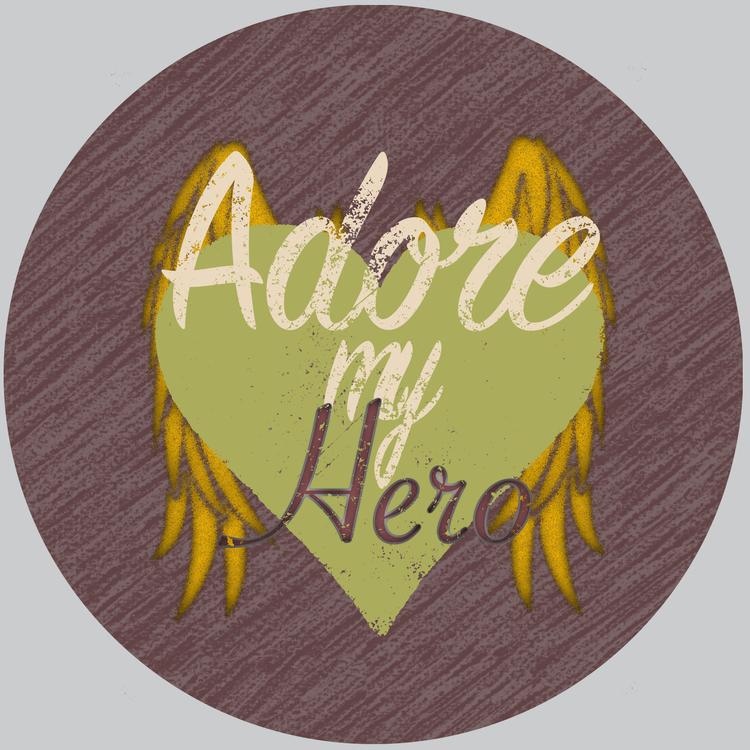 Huvtröja, Adore My Hero, Ljus Grå
