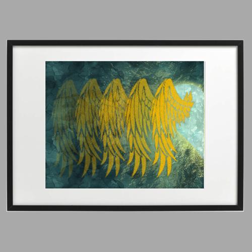 Wings & Heart, Lianis, Inrammade tavlor i par