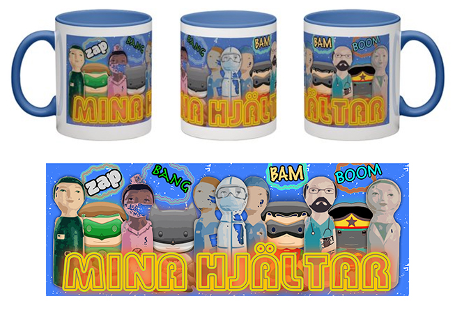 Mugg, Mina hjältar, Cartoons 2A