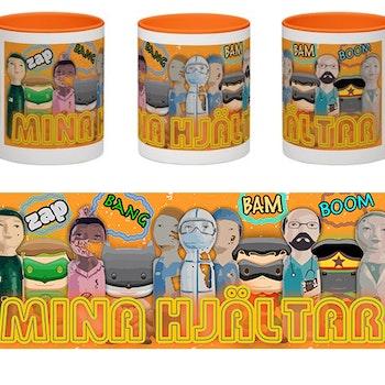Mugg, Mina hjältar, Cartoons 2B