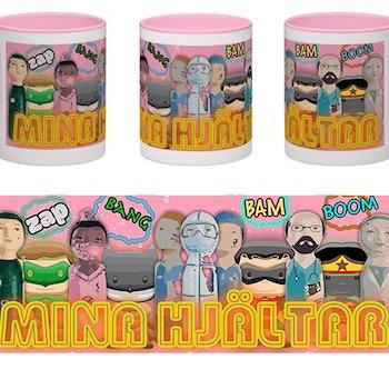 Mugg, Mina hjältar, Cartoons 2C
