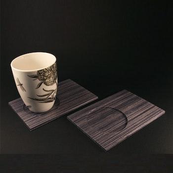Kopp-och glasunderlägg, Läggis, set av två