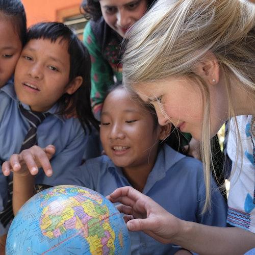 1 bambusplante i Nepal med digitalt takkebrev