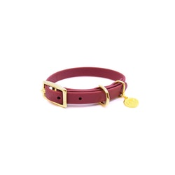 Classic Wine Red Collar XXS