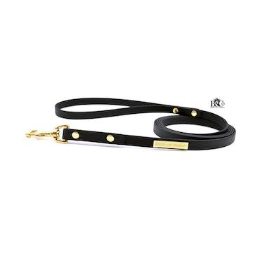 Classic Black Leash 12 mm