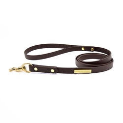 Classic Dark brown Leash 16 mm