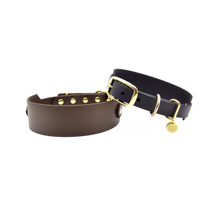 Classic Dark brown Collar Wide S