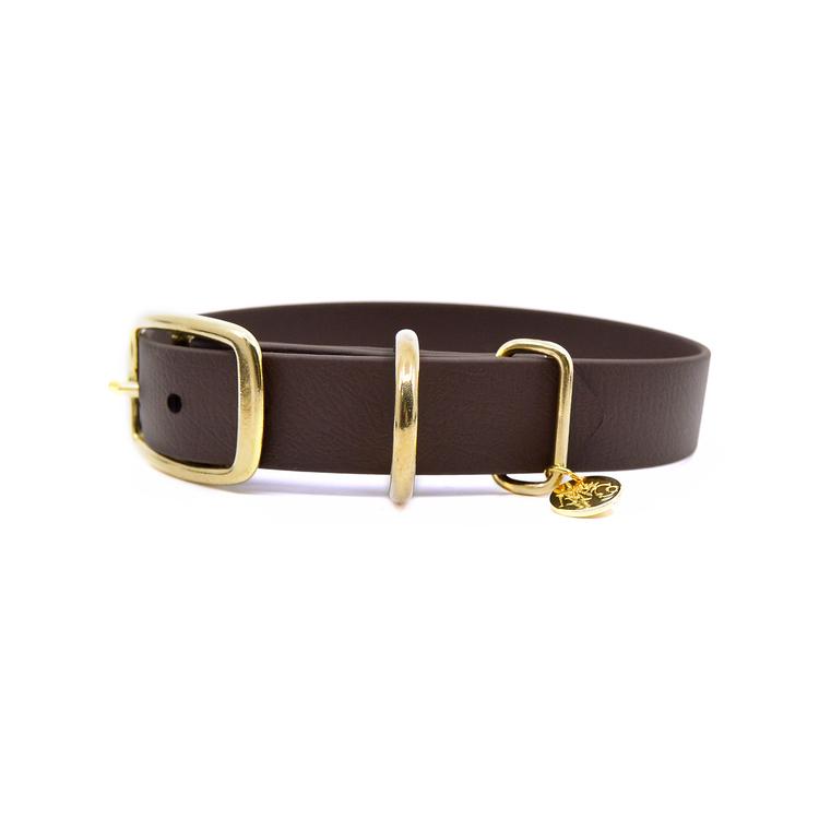 Classic Dark brown Collar XXL