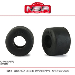 NSR - SLICK REAR 19.5 X 13 ULTRAGRIP EVO (x4)