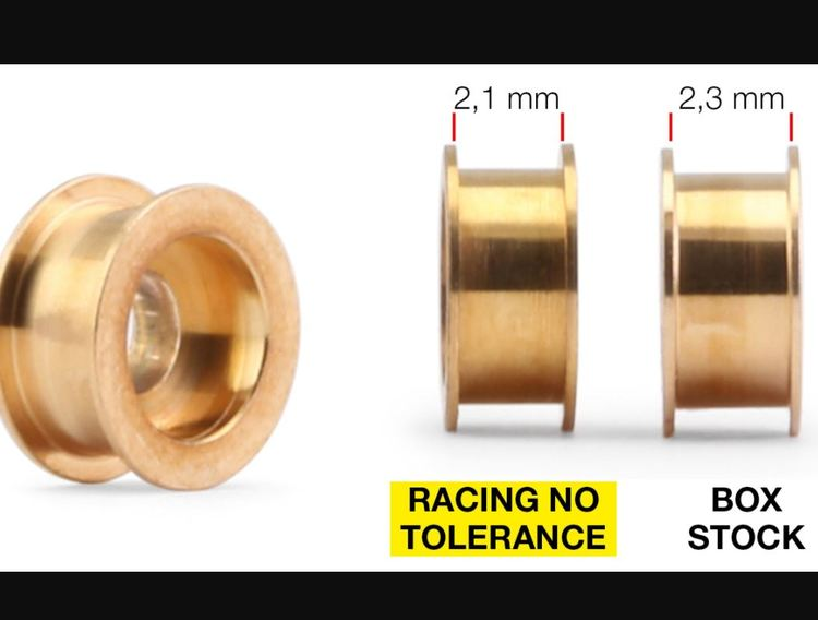 NSR - 3/32 RACING NO TOLERANCE OILITES for all Cars Autolubricant &No Friction(2x)