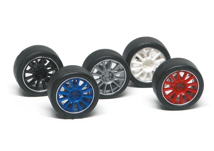 NSR - Set insert 12 spokes - For Ø 17 wheels BLUE