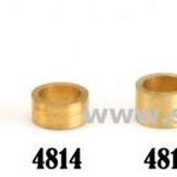 "NSR - 3/32"" axle brass spacers -  .100"" / 2,50 mm (10x)"
