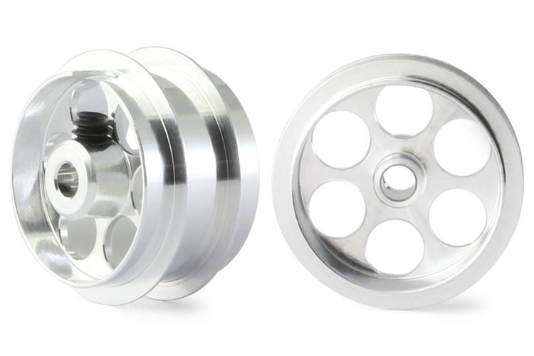 "NSR - Alu wheels 3/32"" - Rear Ø 14,5 x 12,2mm - Ultralight & very accurate (x2)"