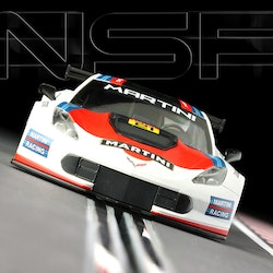 NSR - Corvette C7R - Martini Racing #21 - White - SW - Shark 25.000 rpm