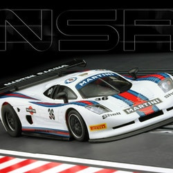 NSR - Mosler MT 900 R EVO5 TRIA - Martini Racing white #36 - SW Shark 25.000 rpm