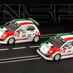 NSR - Abarth 500 Assetto Corse - Trofeo Abarth Italia - #54 - Shark EVO 20.000 rpm