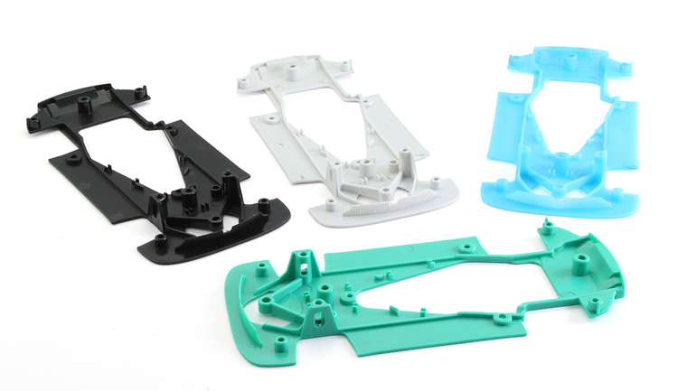 NSR - Mercedes AMG EXTRAHARD GREEN CHASSIS for TRIA Anglew/Inline/Sidewinder setup