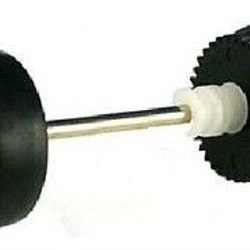 Scalextric - W9570 - Rear Wheel Axle Assembly (passar BMW320i, tex C2714)