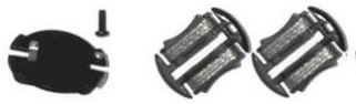 Scalextric C8330 - Drift Guide Blade & screws (4x)