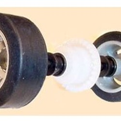 Scalextric W8913 - Scalextric rear axle assembly for the Porsche Boxster model