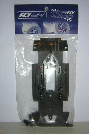 FLY 79579 - Chassis complete and motor support Porsche EVO 3