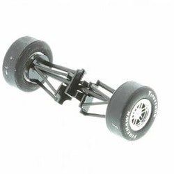 Scalextric W8687 - Dallara Indy Car Front Axle Assembly (NOS New Old Stock)