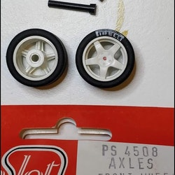 Proslot - Independent front axles, wheel and tyres (NOS - New Old Stock)