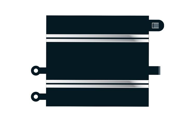 Scalextric Sport - Converter Straight x2 / Adapterskena Sport/Classic x2