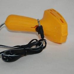 Scalextric  - äldre körhandtag 2 poler - Gult/Yellow