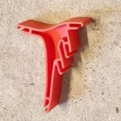SCX Classic - Banstöd orange plast (x1)