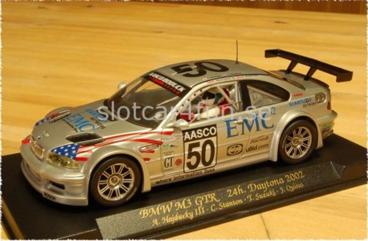 FLY Car Model - BMW M3 GTR - Daytona 2002 (A285)