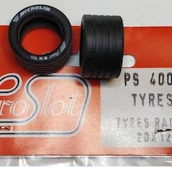 Proslot - Tyres Racing 20 x 12  (NOS - New Old Stock) 4 pcs