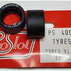 Proslot - Tyres Slicks 20 x 12  (NOS - New Old Stock) 4 pcs