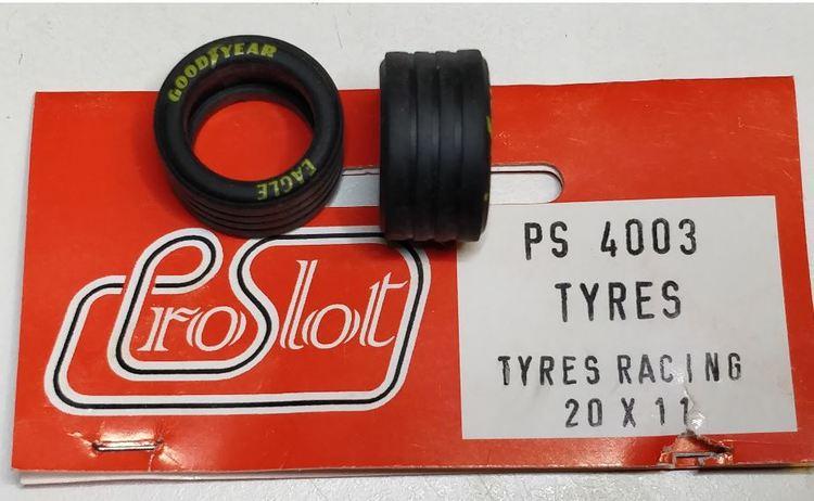 Proslot - Tyres Racing 20 x 11  (NOS - New Old Stock) 4 pcs