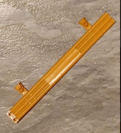 Scalextric - Staket -  färgade - Orange -  Längd 175mm  (x1)