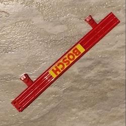 Scalextric - Staket -  färgade - Röd -  Längd 175mm  (x1)