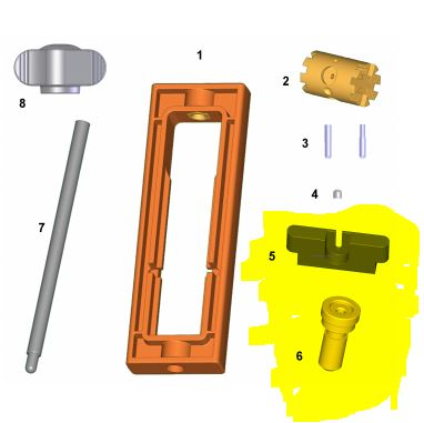 Slot.it - Extraction and counter plate spares for TL01/SP21