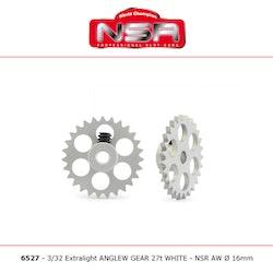 NSR - AW crown gear - 3/32 Alu - 27 Teeth Ø 16mm - Anglewinder 15°