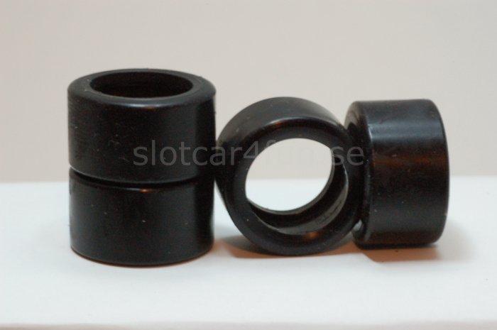 MJK - Tyre / Däck  22 x 12 mm for FLY Ford Capri (4x)