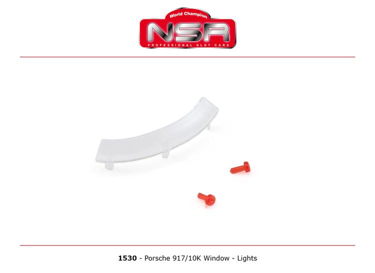 NSR - PORSCHE 917/10K WINDOW - LIGHTS