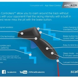 Scalextric - ARC AIR/PRO Wireless Hand Controller