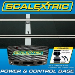 Scalextric - Power Base and controllers