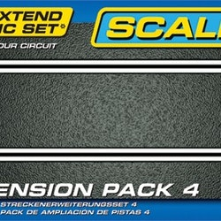 Scalextric - Track Extension Pack 4 ( std raka 4st)