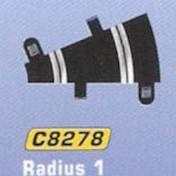 Scalextric - Radius 1 Curve 22,5 degrees (2x)