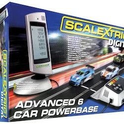 Scalextric - Advanced 6 Car Digital Powerbase