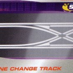 Scalextric - Straight Lane Change Digital / Rak spårbytesskena för Digital (1x)