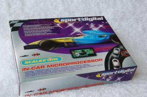 "Scalextric - In-Car Microprocessor ""Sport Digital"" Chip ""F1/Single Seater"""